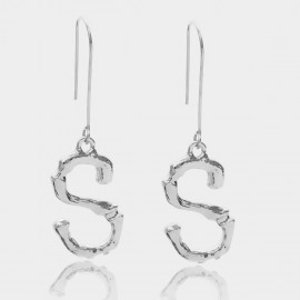 Coen C Bony S Silver Earrings (B01294KS)
