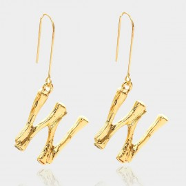 Coen C Bony W Gold Earrings (B01294KW)