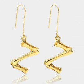 Coen C Bony Z Gold Earrings (B01294KZ)