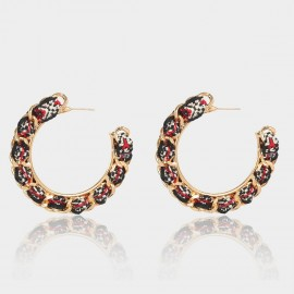 Coen C Chain Wheel Multi Earrings (B01297K1)