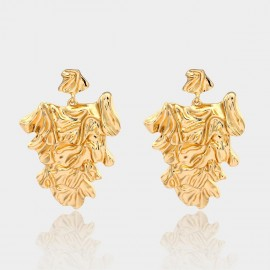 Coen C Alaya Gold Earrings (B01299K1)