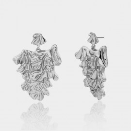 Coen C Alaya Silver Earrings (B01299K1)