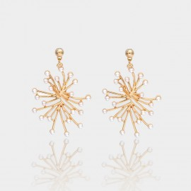 Coen C Spark Gold Earrings (B01300K1)