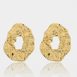 Coen C Cave Gold Earrings (B01303K1)