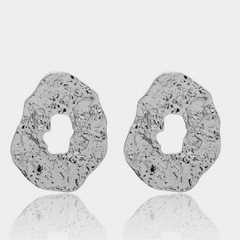 Coen C Cave Silver Earrings (B01303K1)