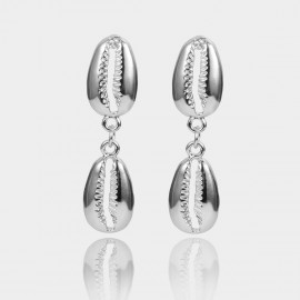 Coen C Sea Messenger Silver Earrings (B01375K1)