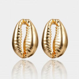 Coen C Sea Voice Gold Earrings (B01378K1)