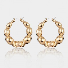 Coen C Jasper Gold Earrings (B01383K1)