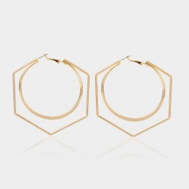 Coen C Life Gold Earrings (B01384K1)