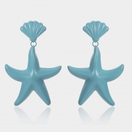 Coen C Sea Life Blue Earrings (B01467K1)
