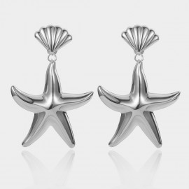 Coen C Sea Life Silver Earrings (B01467K1)