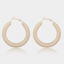 Coen C Chill White Earrings (B01469K1)
