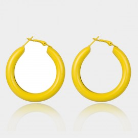 Coen C Chill Yellow Earrings (B01469K1)