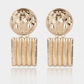 Coen C Care Gold Earrings (B01484K1)