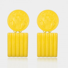 Coen C Care Yellow Earrings (B01484K1)