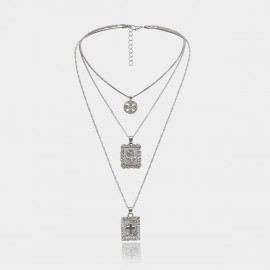 Coen C Holy Tokens Silver Long Chain (C02032K1)