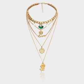 Coen C Religious Seed Gold Long Chain (C02109K1)