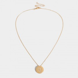 Coen C Bling Q Gold Long Chain (C02256KQ)