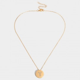 Coen C Bling Y Gold Long Chain (C02256KY)