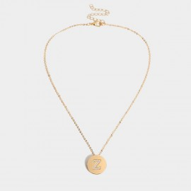 Coen C Bling Z Gold Long Chain (C02256KZ)