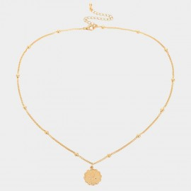Coen C Leo Gold Necklace (C02263K1)