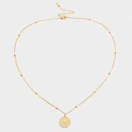 Coen C Virgo Gold Necklace (C02264K1)