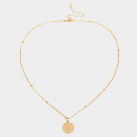 Coen C Scorpio Gold Necklace (C02266K1)