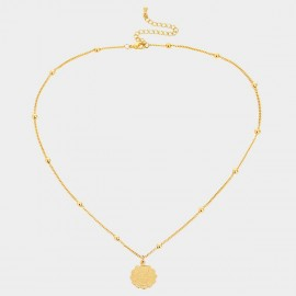 Coen C Sagittarius Gold Necklace (C02267K1)