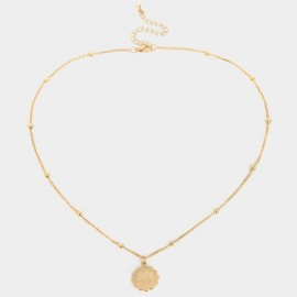 Coen C Aquarius Gold Necklace (C02269K1)