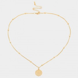 Coen C Pisces Gold Necklace (C02270K1)