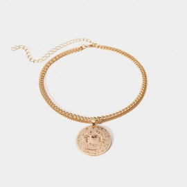 Coen C Cancer Protector Gold Necklace (C02273K1)