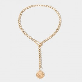 Coen C Cancel Tassle Gold Long Chain (C02275K1)