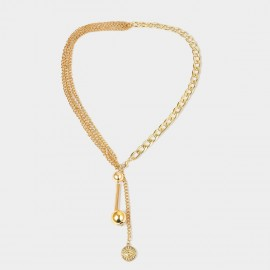 Coen C Opposite Gold Long Chain (C02286K1)