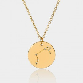 Coen C Aries Chart Gold Long Chain (C02310K1)