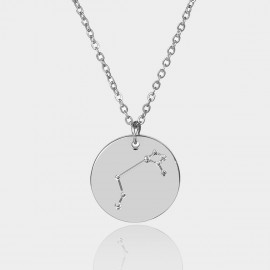 Coen C Aries Chart Silver Long Chain (C02310K1)