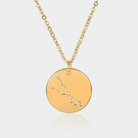 Coen C Taurus Chart Gold Long Chain (C02311K1)