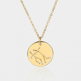 Coen C Gemini Chart Gold Long Chain (C02312K1)