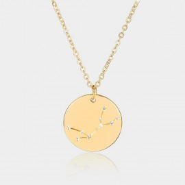 Coen C Virgo Chart Gold Long Chain (C02315K1)