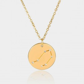 Coen C Libra Chart Gold Long Chain (C02316K1)