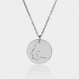 Coen C Aquarius Chart Silver Long Chain (C02320K1)