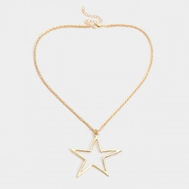 Coen C Only Pentagram Gold Necklace (C02332K1)