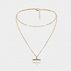 Coen C Rebel Gold Long Chain (C02363K1)