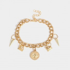 Coen C Demon Eye Gold Bracelet (E00345K1)