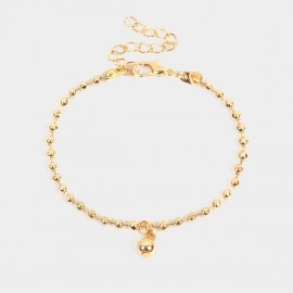 Coen C Full Beads Gold Bracelet (E00350K8)