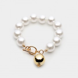 Coen C Highlight Gold Bracelet (E00359K1)