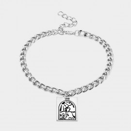 Coen C Ancient Totem Silver Shoes Chain (H00533K1)