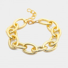 Coen C Trouble Gold Shoes Chain (H00540K1)