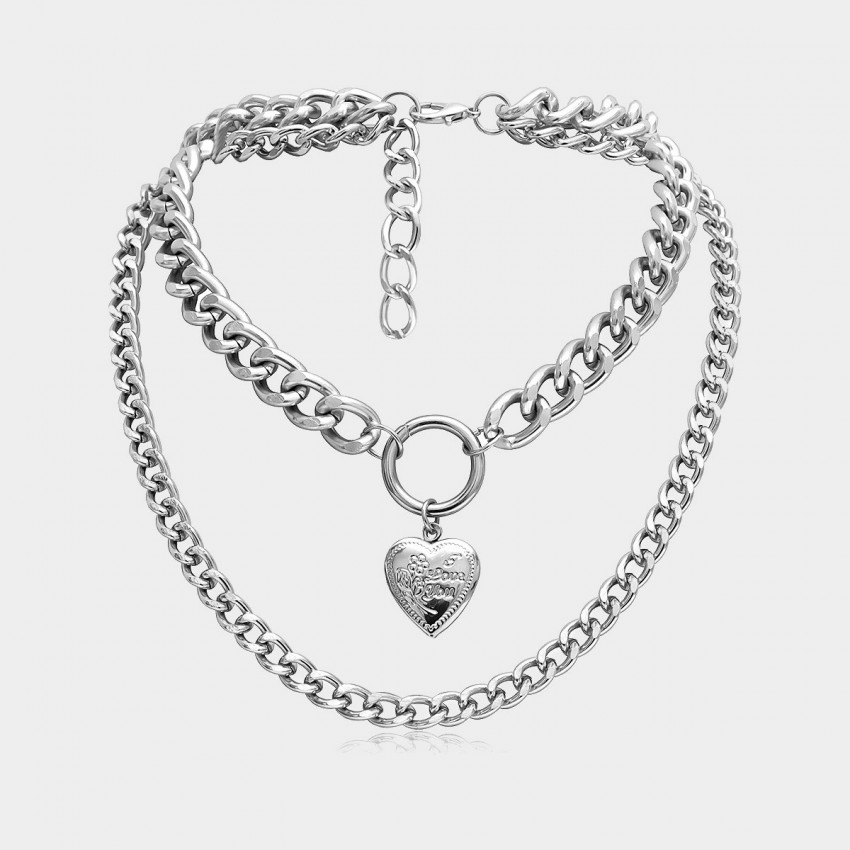 Coen C Carman Silver Necklace (C02340K1)