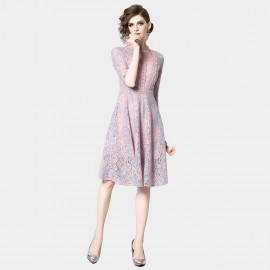 OFYA Purplish Pink Dress (6645)
