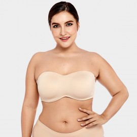 Delimira Seamless Full Coverage Nude Bra (H314)